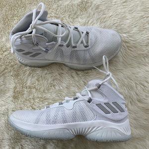 Adidas Bounce Basketball White Men's 7.5